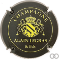 Champagne capsule 2 Noir et or (et Fils)