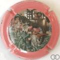 Champagne capsule 1 1999, contour rose
