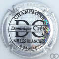 Champagne capsule  Pailleté et noir