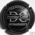 Champagne capsule  Noir et gris