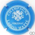 Champagne capsule 12 Bleu ciel et blanc