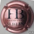 Champagne capsule A1.f Rosé et bleu foncé