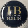 Champagne capsule A1.g Jéroboam, bleu et jaune