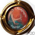 Champagne capsule 22.g Insert, polychrome, contour or