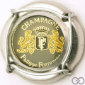 Champagne capsule 17 Insert, fond gris