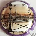 Champagne capsule 1.c Contour violet