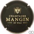 Champagne capsule 11 Noir et or