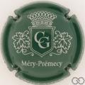 Champagne capsule 2 Vert foncé et argent