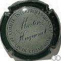 Champagne capsule 2.a Contour vert foncé crème foncé