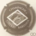 Champagne capsule 1.f Marron et blanc
