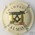 Champagne capsule 21 Fond crème