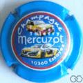 Champagne capsule 21.a Voiture, contour bleu claire
