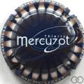 Champagne capsule 17.g Fond bleu foncé
