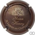 Champagne capsule 5.a Marron et or