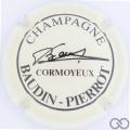 Champagne capsule 13 Crème pâle et noir