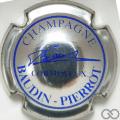 Champagne capsule 1 Métal et bleu