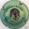 Champagne capsule 20 Vert métallisé et noir