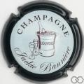 Champagne capsule 22 Contour noir, fond pastel