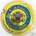 Champagne capsule 15 Cercle or-jaune