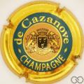 Champagne capsule 9 Cercle intérieur rosé
