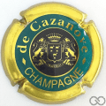 Champagne capsule 13.a Cercle intérieur noir, 'C' fermé