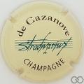 Champagne capsule 7.a Crème, bleu et marron