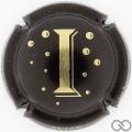 Champagne capsule 10.b I, noir et or