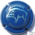Champagne capsule 13.a Sanglier, bleu