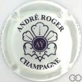 Champagne capsule 3.a Crème et marron, avec petite bar de E , verso or