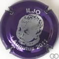 Champagne capsule A1 Violet métallisé et argent