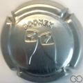 Champagne capsule 24.a Estampée  métal