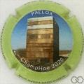 Champagne capsule 29.c Contour vert pomme