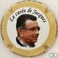 Champagne capsule 36.b La cuvée de Jacques, contour crème