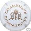 Champagne capsule 1.b Blanc et or