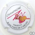 Champagne capsule 613 An 2000, n°613, blanc