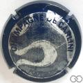 Champagne capsule 43.ah Jéroboam, contour bleu