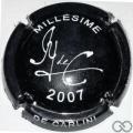 Champagne capsule 46.f Noir et blanc, 2007