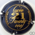 Champagne capsule 28 Quart, bleu foncé