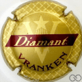 Champagne capsule 19.a Or, Diamant