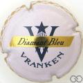 Champagne capsule 22 Quart, Diamant Bleu