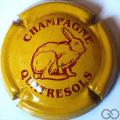 Champagne capsule 25.d Jaune