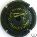 Champagne capsule 20.d Noir et or