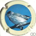 Champagne capsule 18.c 4/6 Oiseau