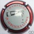 Champagne capsule 20.h Contour bordeaux