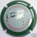 Champagne capsule 20.f Contour vert