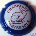 Champagne capsule 25 Contour bleu