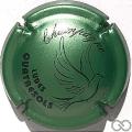 Champagne capsule 12 Vert pâle et noir