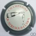 Champagne capsule 20.i Contour gris