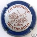 Champagne capsule 24.a Contour bleu