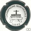 Champagne capsule 5 Contour vert foncé